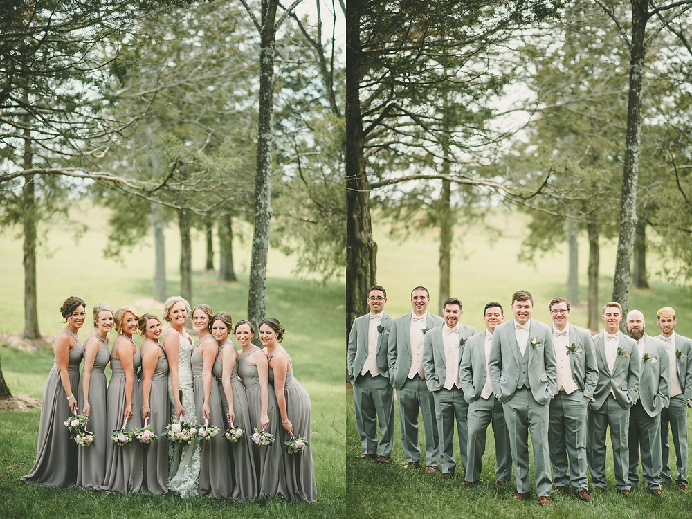 st. louis bridal party