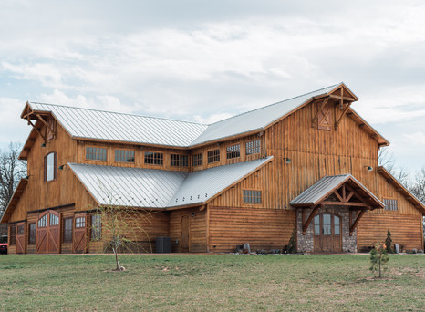Romantic Barn Wedding Styled Photo Shoot