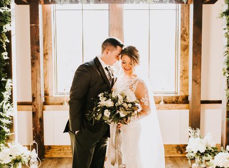 Real Mia Grace Bride: Wedding of Rachel and Bryan