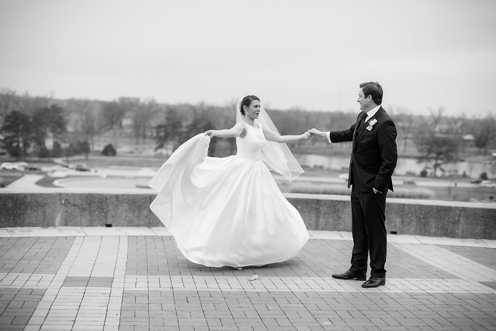 St. Louis bride maggie sottero gown