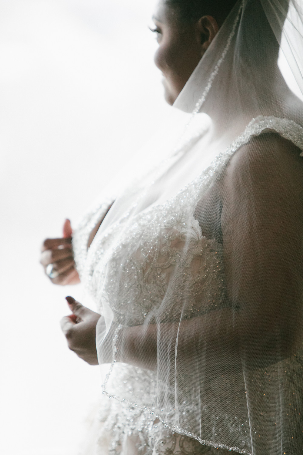st louis bride and veil