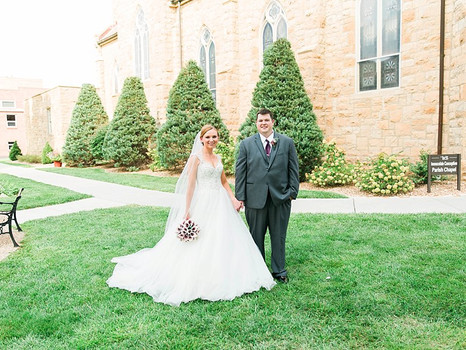 Real Mia Grace Bride: Wedding of Jessica and Tyler