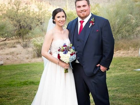 Real Mia Grace Bride: Wedding of Emily and Jared