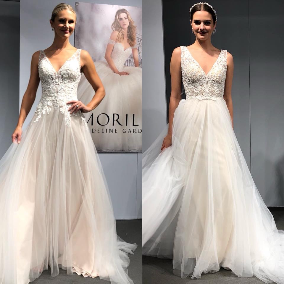 wedding dress trends 2018 mori lee by madeline gardner