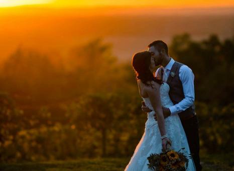 Real Mia Grace Bride: Wedding of Emily and Josh
