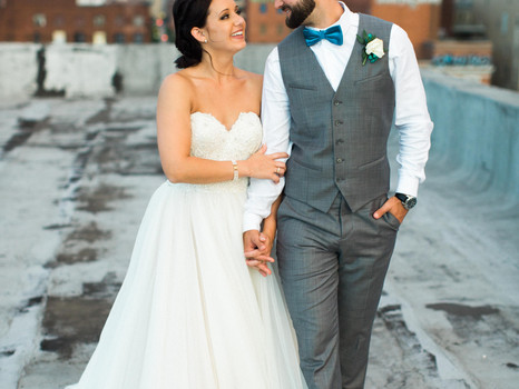 Real Mia Grace Bride: Wedding of Molly and Jared