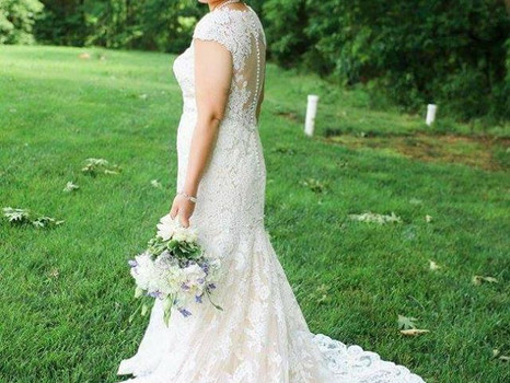 Real Mia Grace Bride: Wedding of Chelsea and Nate