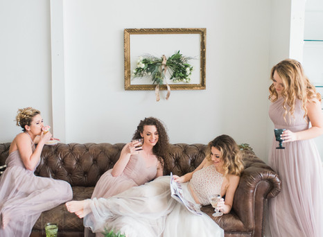 Stunning Styled Bridal Photo Shoot in St. Louis