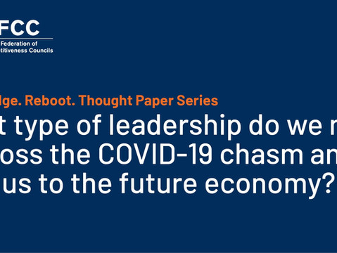 Now. Bridge. Reboot. Thought Papers discuss leadership in the COVID-19 aftermath