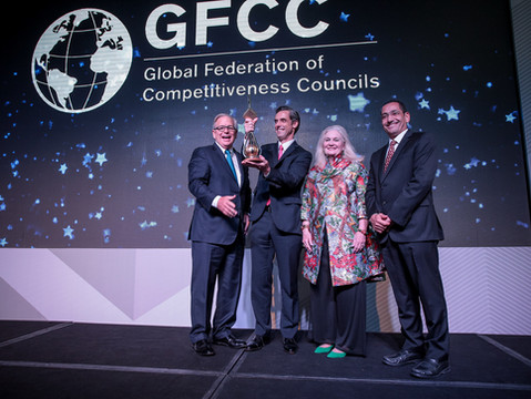 Santiago Murtagh Receives GFCC Global Competitiveness Award