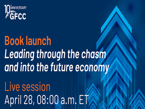 """Book Launch: """"Leading through the chasm and into the future economy"""""""