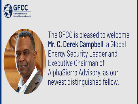 GFCC welcomes Mr. C. Derek Campbell as our new Distinguished Fellow