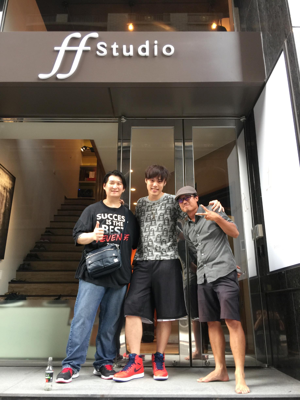 JerryC, Akai and Johnny