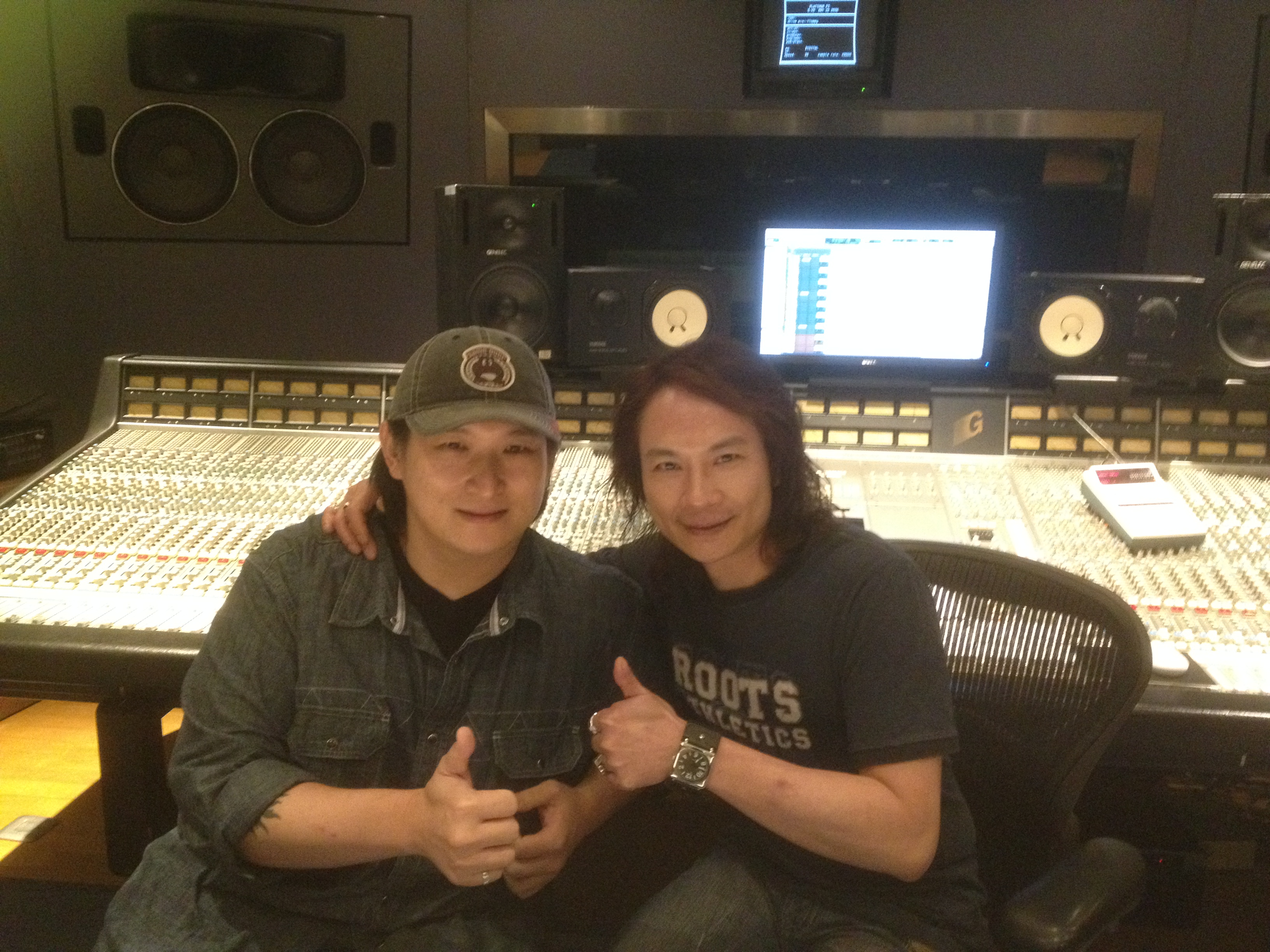 K哥 & Johnny 台北白金錄音室
