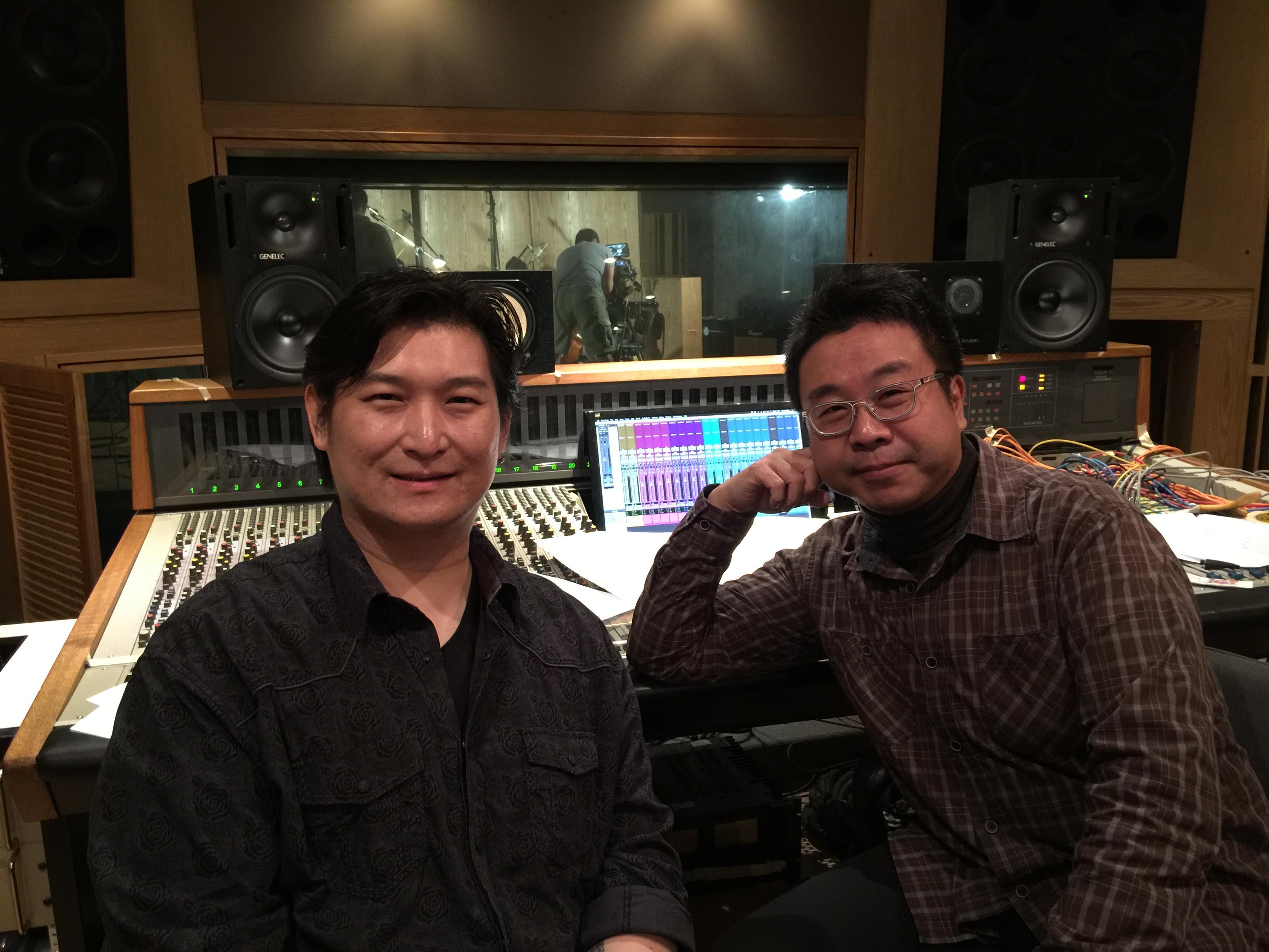 Micky Yang and Johnny, 強力錄音室