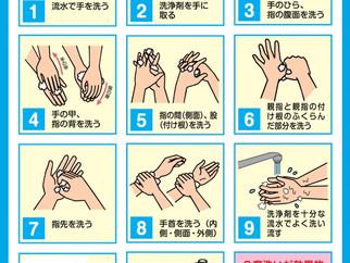 正しい手洗いで感染予防