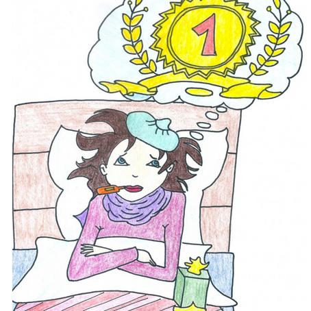 Ein geistiges Virus durch Grippe entlarvt