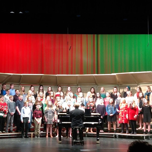 Howards Grove 7th and 8th Grade Choir - Winter Concert 2018