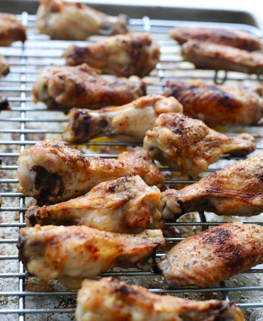 4 tricks to Crispy Baked Wings
