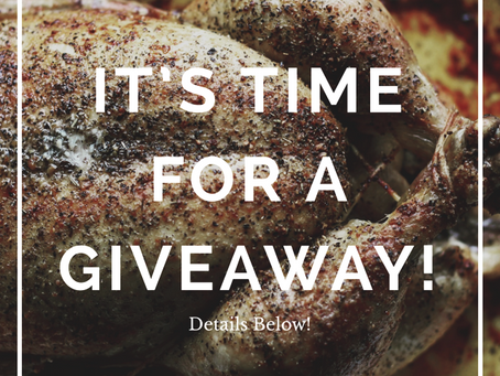 It's Time For A GIVEAWAY!