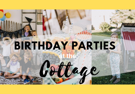 Introducing the Cottage - Events on the Farm!