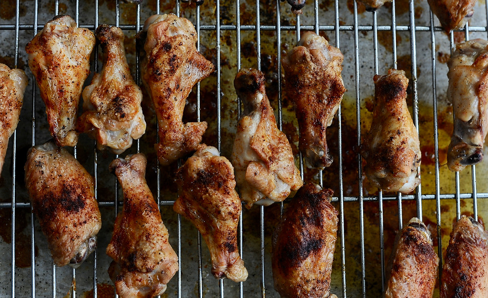 Perfectly baked crispy chicken wings for any game day