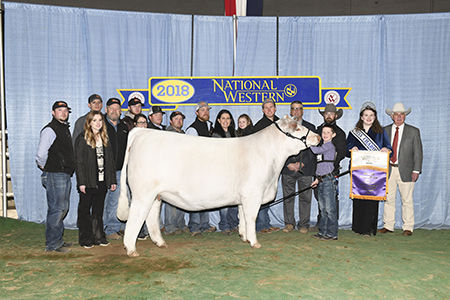 Grand Char Female Open Show & Res - Jr S