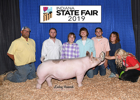 5th Overall Div 3 Indiana State Fair