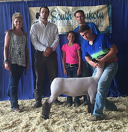 Reserve Grand Champion Market Lamb South
