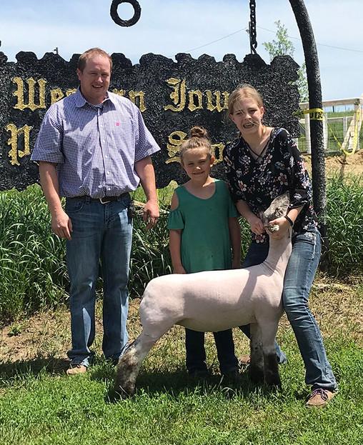 Champion Speckle Face 2018 Western Iowa Progress Show Res. Champion Speckle 2018 Austin Alt Memorial Show Congratulations Christensen Family! Off Label x 34 x Lock 'n Load