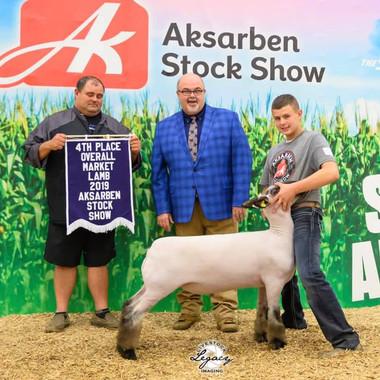 4th Overall Market Lamb