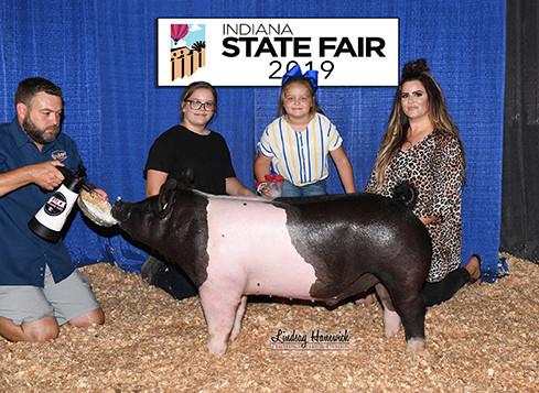 3rd Overall Div. 4 Cross Barrow 2019 Indiana State Fair Lakyn Mauck
