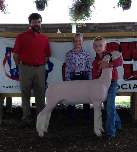 3rd Overall WBI  2015 Charles City Jackpot  Shown by JD Morrical