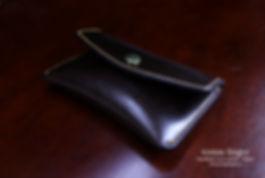 peněženka na drobné mince z kůže