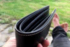 peněženka pánská černá kůže