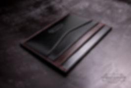 malá peněženka z kůže tenk pro karty