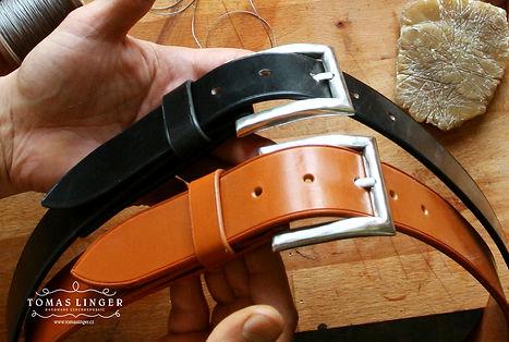 opasek ručně vyrobený z kůže. robusní a elegnatní Bridle kůže