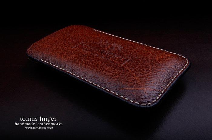 obal pro iphone z kůže bizona