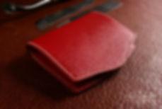 penezenka na drobne a bankovky z prave kuze