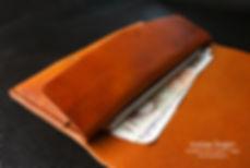 30 léta peněženka starý styl z kůže