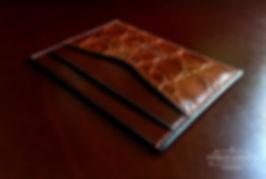 peněženka z krokodýlí kůže