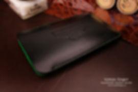 luxusní pouzdro pro iphone kůže černá
