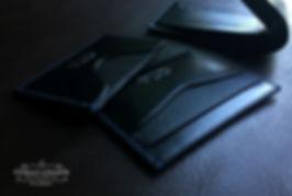 set peněženek z kůže na zakázku
