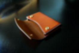 pouzdro pro více karet z kůže