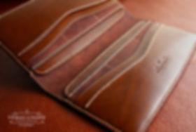 prkenice dokladovka pánská peněženka z pravé kůže. ručně ušitá