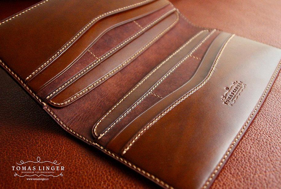 ručně vyrobená dámksá peněženka