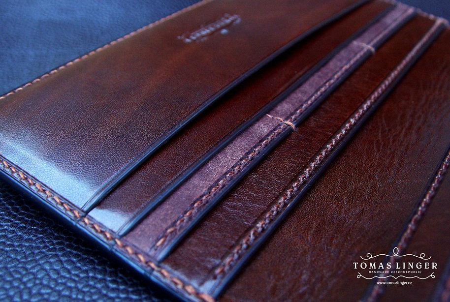 pánská peněženka na zakázku z kůže luxusní dárek 2