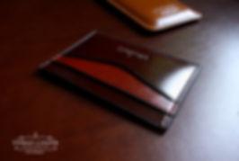 malá peněženka do kapsy z kůže