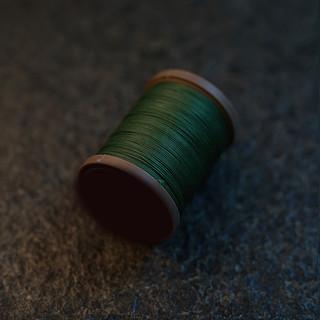 Royal Green - barva ručního šití na pouzdra pro telefon