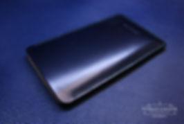 pouzdro pro telefon modrá kůže